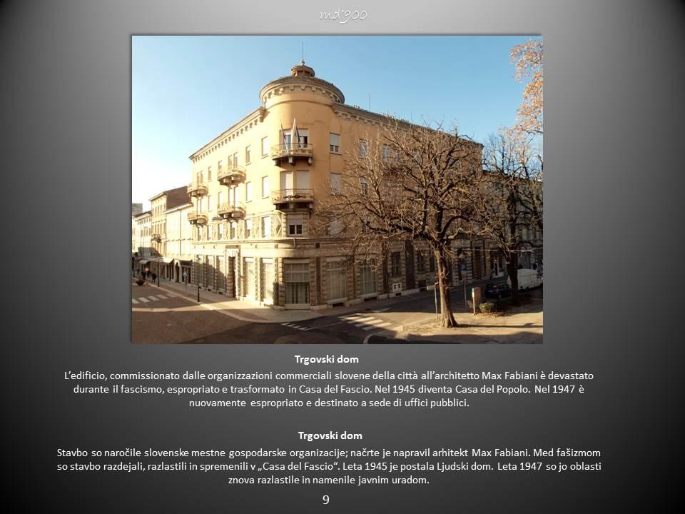 Consorzio commerciale e artigianale di Gorizia, Trgovski dom - Trgovski dom