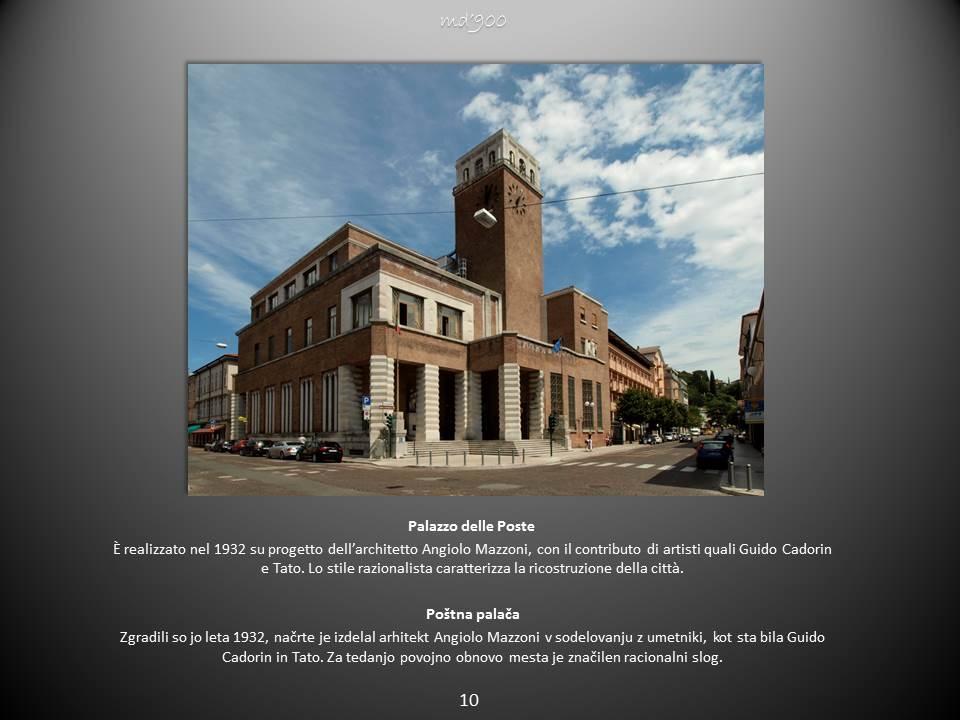 Palazzo delle Poste - Poštna palača