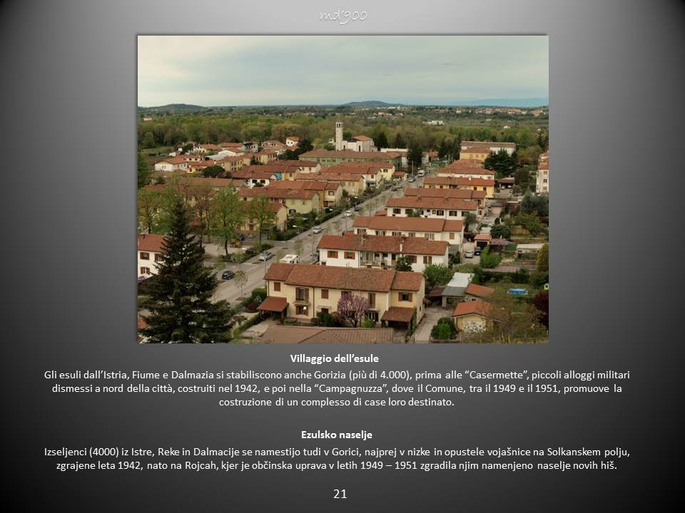 Villaggio dell'esule - Ezulsko naselje
