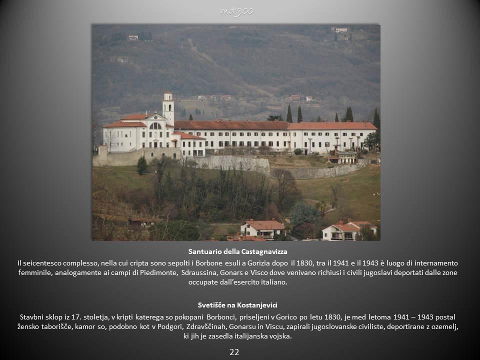 Santuario della Castagnavizza - Svetišče na Kostanjevici