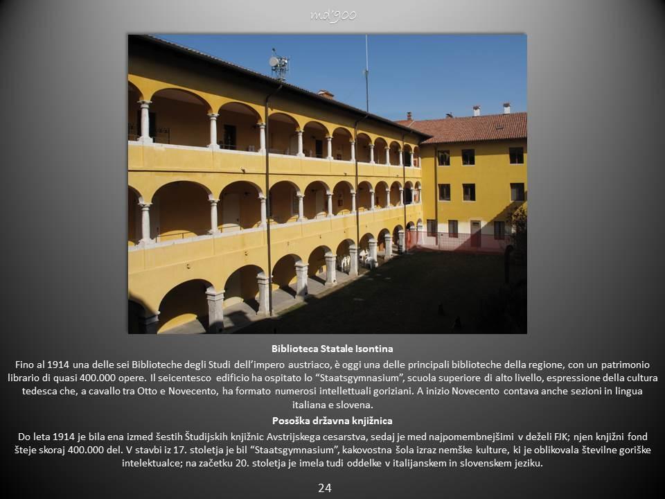 Biblioteca Statale Isontina - Posoška državna knjižnica