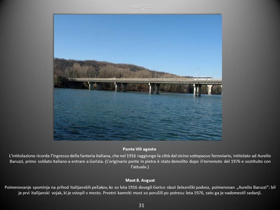 Ponte VIII agosto - Most 8. Avgust
