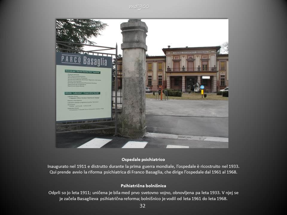 Ospedale psichiatrico - Psihiatrična bolnišnica