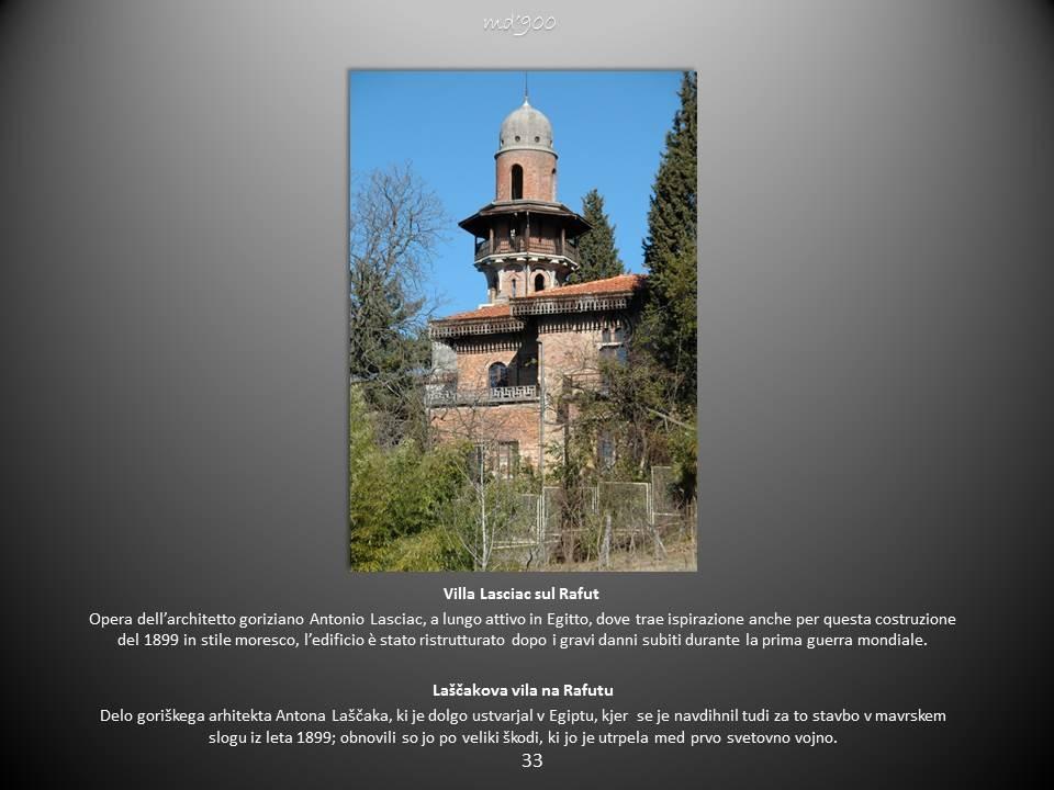 Villa Lasciac sul Rafut - Laščakova vila na Rafutu